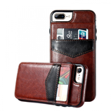 KISSCASE Leather case for iPhone with Vertical Wallet Card Case